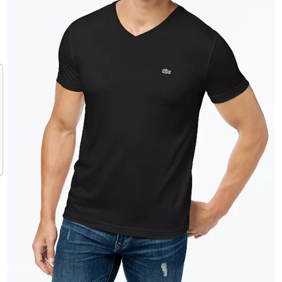 a013687ecf93 Lacoste Other - Lacoste V-neck Pima Cotton Tee